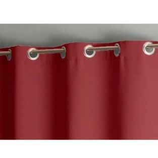 Штора уличная на веранду (В-220*Ш-150) Бордовая, (ткань Оксфорд 600)
